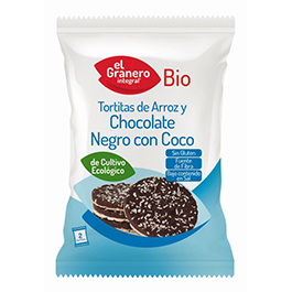 Tortitas arroz chocolate/coco ECO