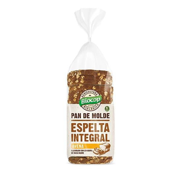 Pan molde espelta integral y avena 350g ECO