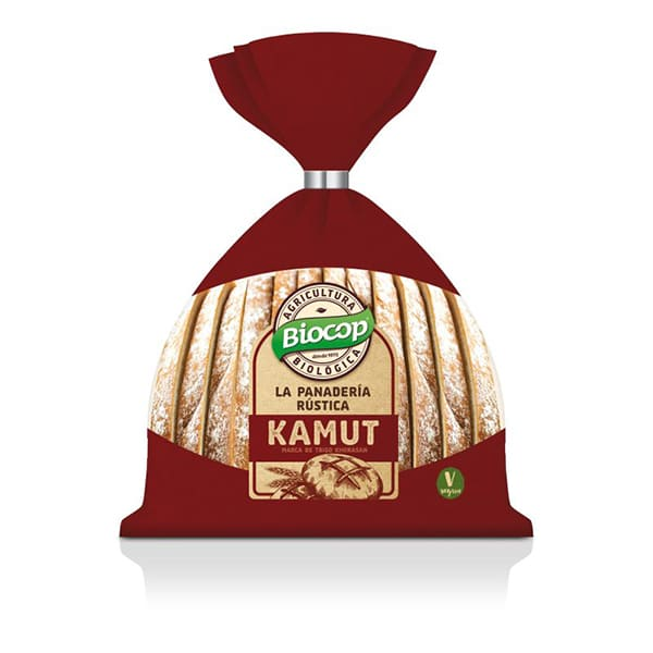 Pan rústico Kamut 350g ECO