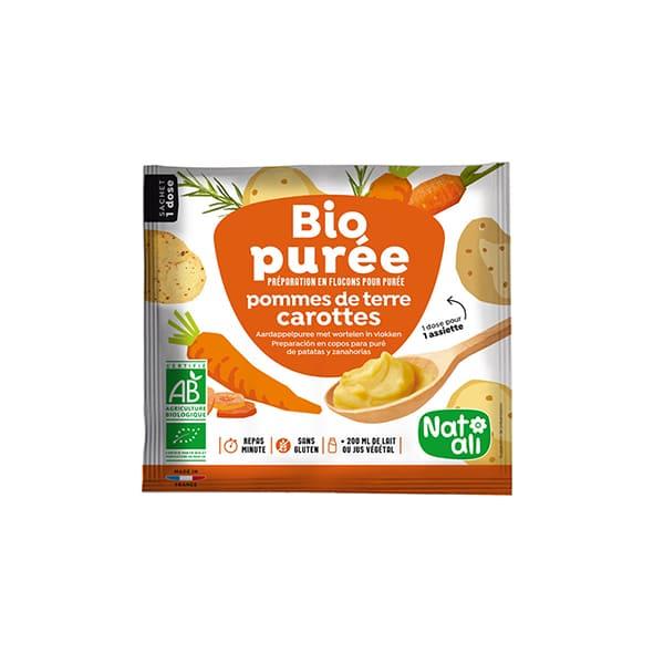 Puré patatas y zanahoria 30g ECO