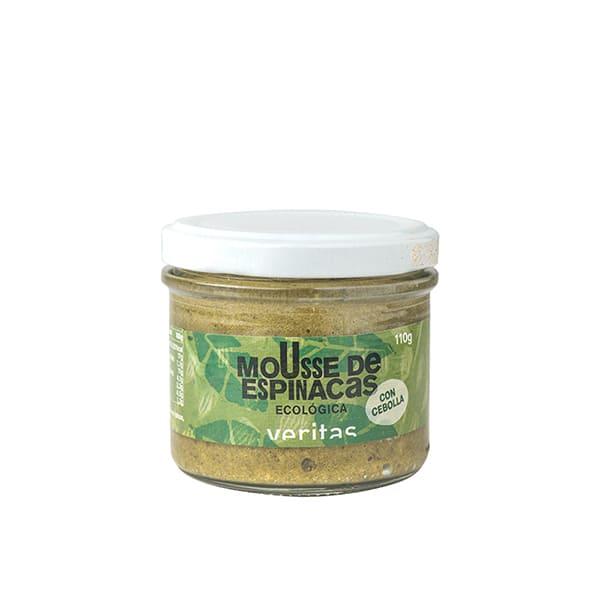 Mousse espinacas y semillas girasol 110g ECO