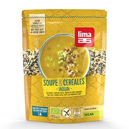 Sopa cereal y legumbre India ECO