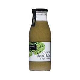 Crema col kale y alga Kombu ECO