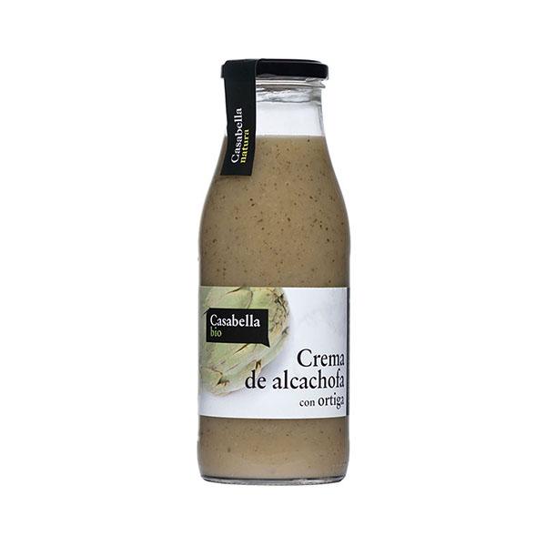 Crema de alcachofa y ortiga ECO