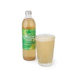 Kombucha Limón/Jengibre 500ml ECO