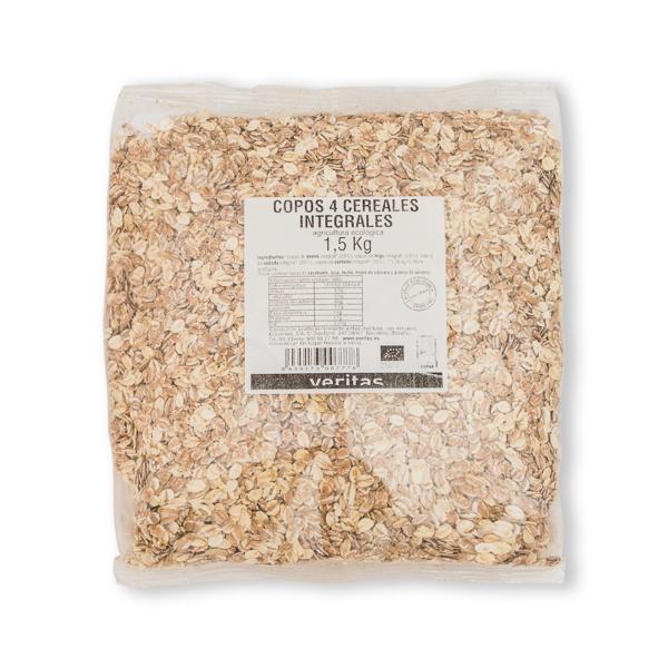 Copos 4 cereales int Veritas 1,5kg ECO