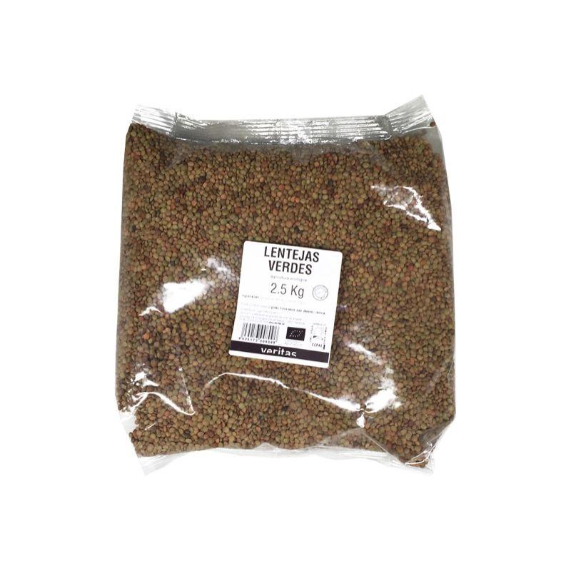 Lentejas Verdes 2,5kg ECO