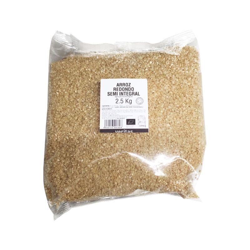 Arroz Redondo Semi Integral 2,5kg ECO