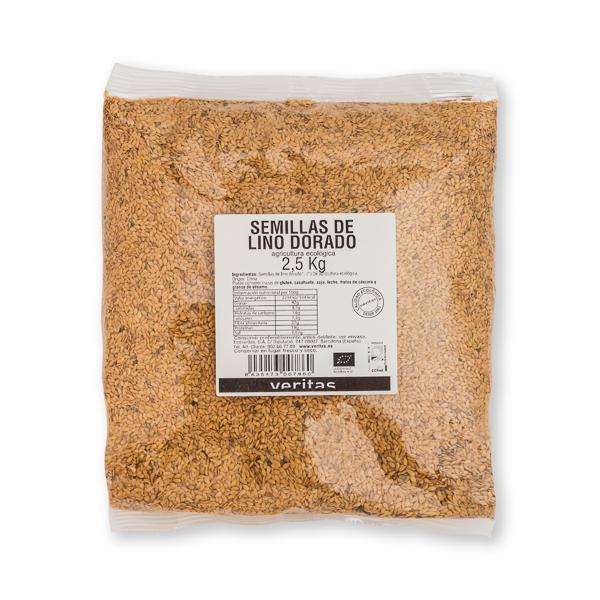 Semillas Lino Dorado 2,5kg ECO