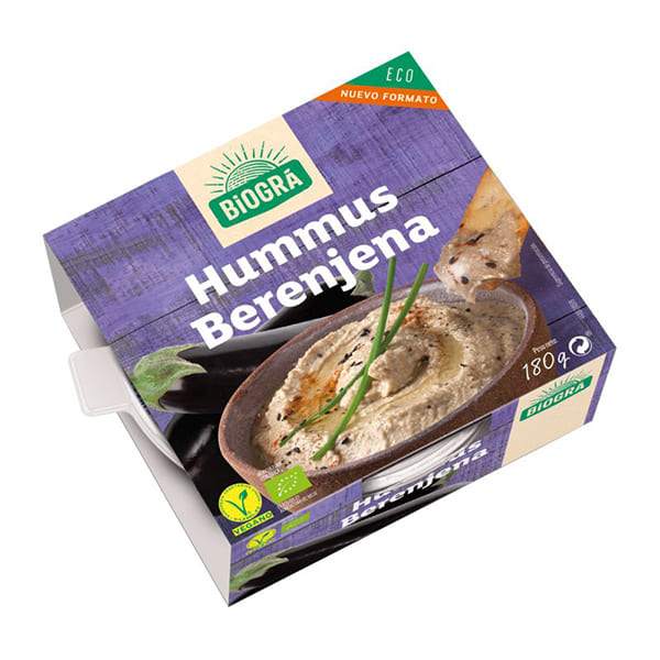 Hummus Berenjena Biográ 180g ECO