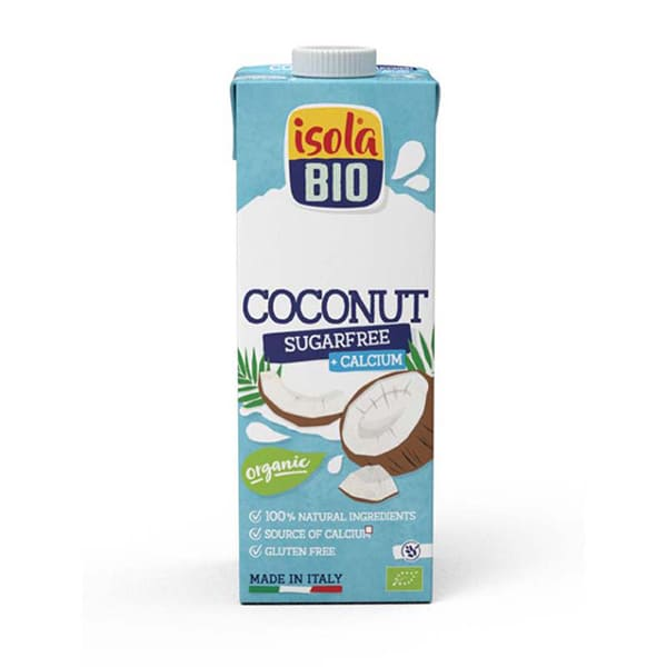 Bebida Coco Calcio sin Azúcar 1L ECO