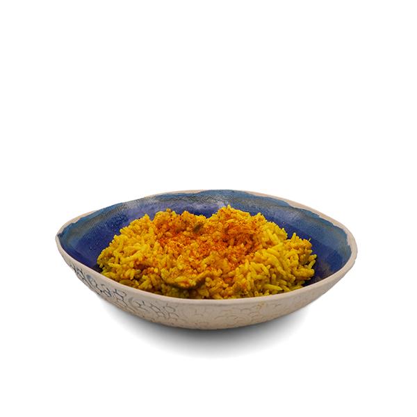 Arroz con pollo al curry 250g ECO