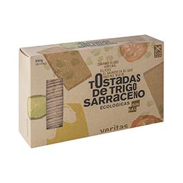 Tostada Sarraceno S/Sal Veritas 250G
