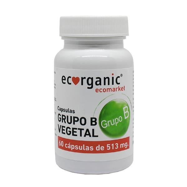 Vitaminas Grupo B Vegetal 60u ECO