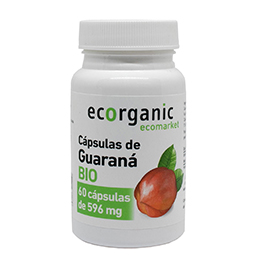 Cápsulas GUARANÁ 60u ECO