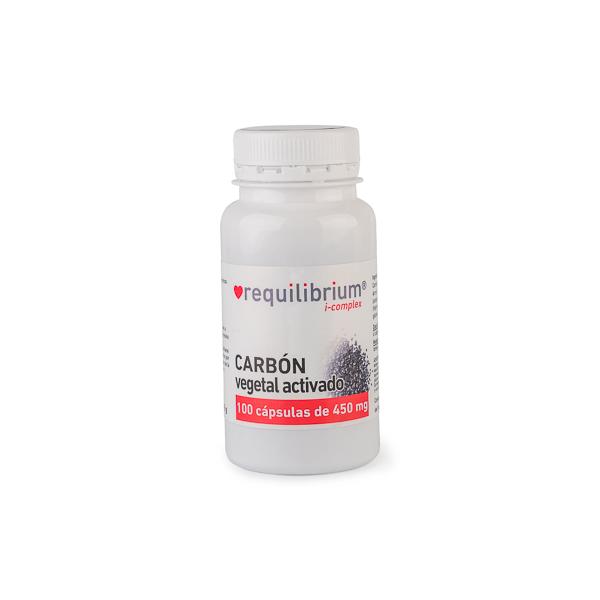 Cápsulas Carbón Vegetal 100u ECO