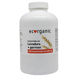 Comp. LEVADURA+GERMEN 450u ECO
