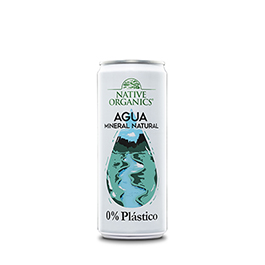 Agua Mineral Lata Native 330ml ECO