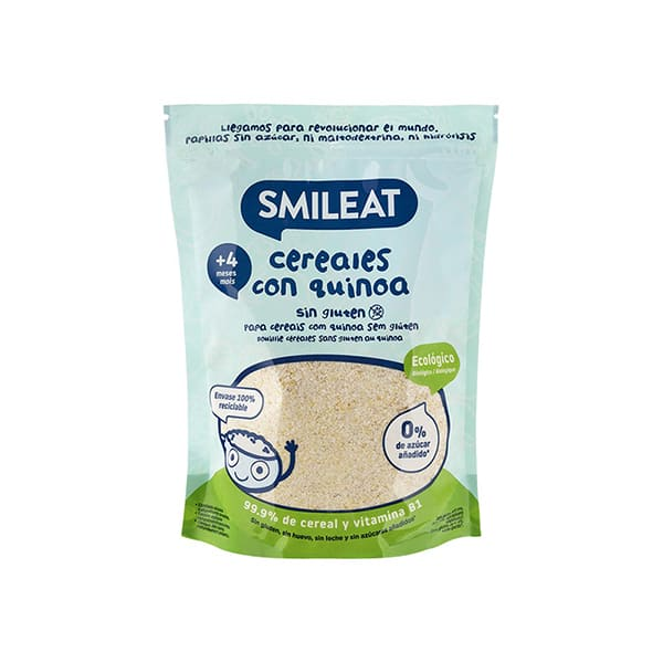 Papilla Cereal-Quinoa s/glut. ECO