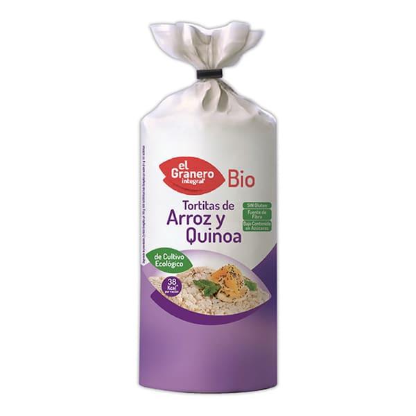 Tortita Arroz Int y Quinoa ECO