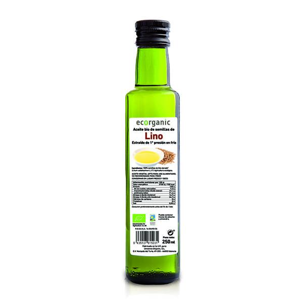 Aceite de Lino Ecorg 250ml ECO