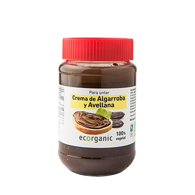 Crema Algarroba Avella 375g ECO