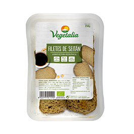 Filets de seitan 250g ECO