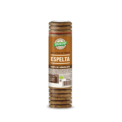 Tubo galleta espel/choco 250g ECO