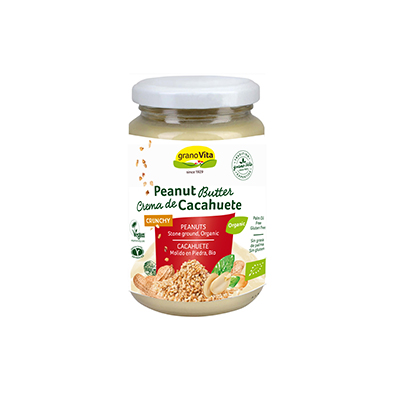 Crema Cacahuete Crunch 350g ECO
