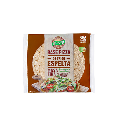 Base Pizza Fina Espelta 390g ECO