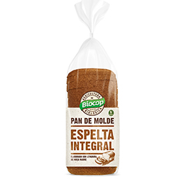 Pan Molde Espelta Integral ECO