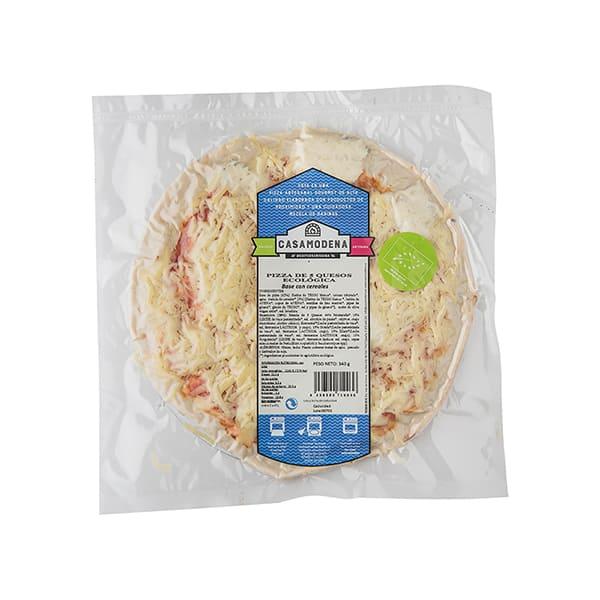Pizza 5 quesos 340g ECO