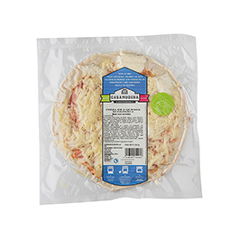 Pizza 5 quesos 340g ECO