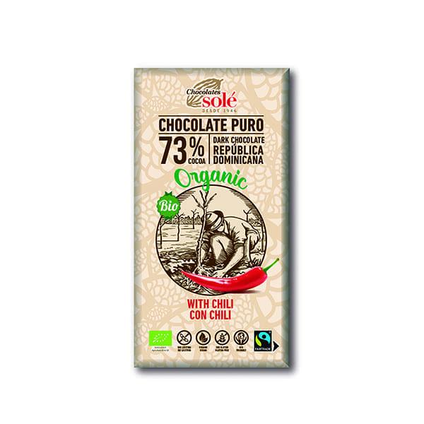 Choco negro c/chili 100g ECO