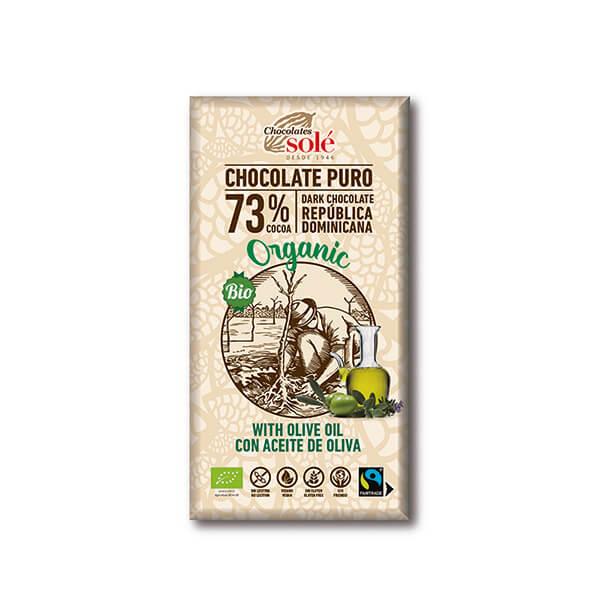 Choco negro c/aceite 100g ECO