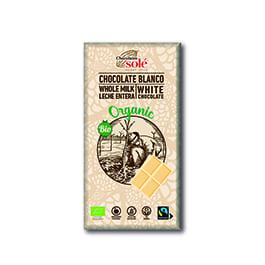 Choco blanco 100g ECO