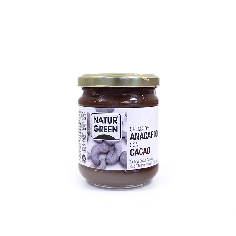 Crema Anacardo cacao 200g ECO