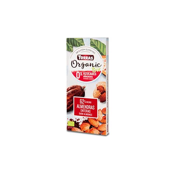 Choco Negro-Almendra s/azúcar ECO