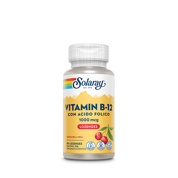 B12 + Ácido Fólico 90u