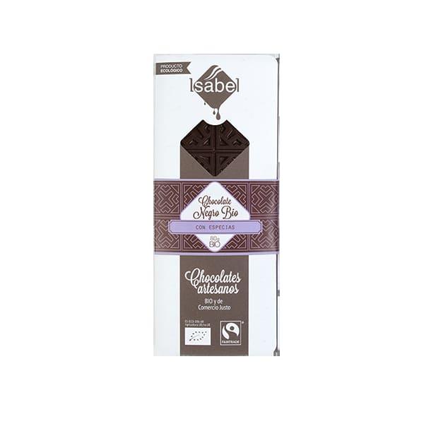 Chocolate Negro Especias 80g ECO
