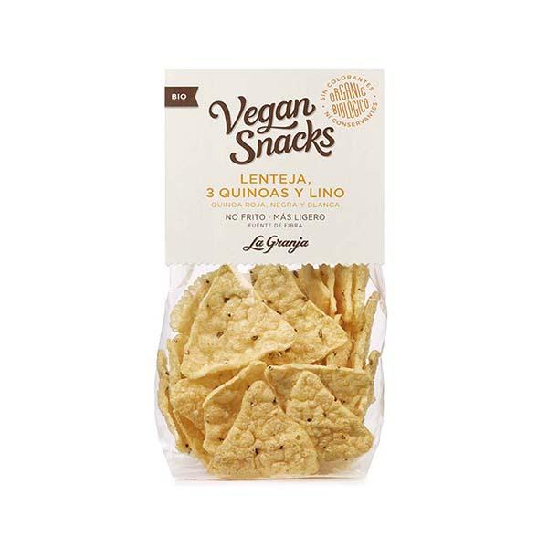 Snack lenteja 3 quinoas Granja 40g ECO