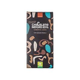 Chocolate negro 85% Veritas 100g ECO