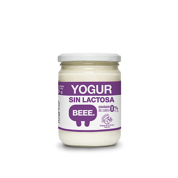 Yogur de cabra s/lactosa 420g ECO