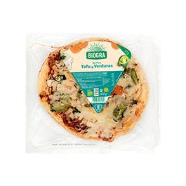 Pizza de verduras y tofu 300g ECO