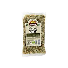 Fideos finos verduras Biográ 250 ECO