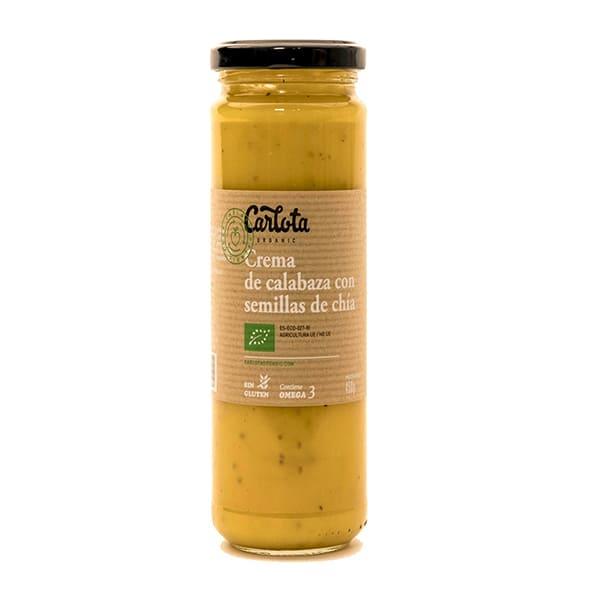 Crema de Calabaza y Chia 450g ECO