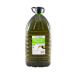 Aceite Oliva E.Virgen Ecorganic 5L Eco