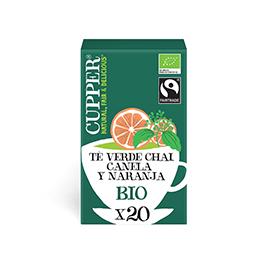 Té Chai Verde Cupper 20b ECO