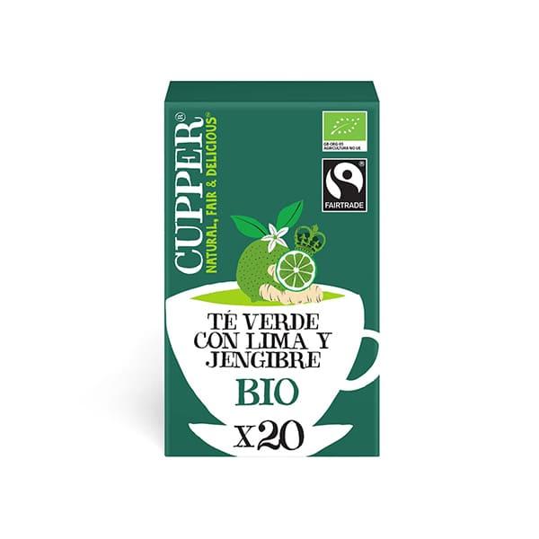 Té Verde Lima y Jengibre 20b ECO