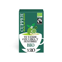 Té Verde Lima-Jengibre 20b ECO